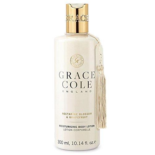 Lotion corporelle de 300 ml par Grace Cole - Fleur de nectarine et pamplemousse