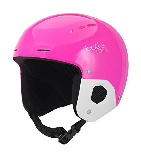 Bollé Mädchen Quickster Skihelme, Shiny Pink, 52-55CM