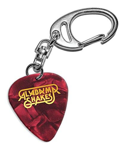 Alabama Shakes Gitarre Plektrum Keyring Schlüsselanhänger Red Pearl (GHF)