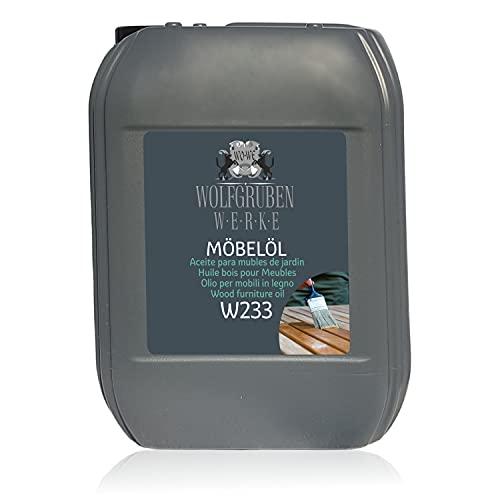 Olio per Mobili in Legno Restauro Impregnante Lucidatura Arredamento W233-5L