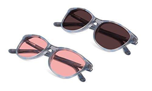 (Bundle) TheraSpecs Audrey Blue Light Glasses for Migraine, Light Sensitivity