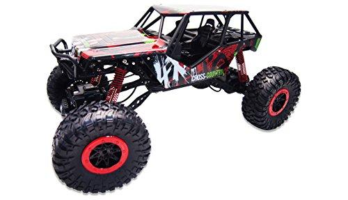 Amewi 22216 Red Crazy Crawler 4WD RTR Rock, Fahrzeug, 1:10 rot