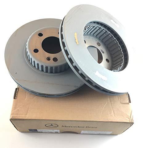 MercedesBenz Original Brake Discs Set Front W205 W213 A0004212512