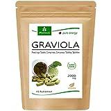 MoriVeda® Graviola Fruit Extract Tablets 120 x 2000mg - 100% Natural I Graviola Tablets, Rich in Vitamins & Antioxidants I Graviola Vegan & Gluten Free I 120pcs.