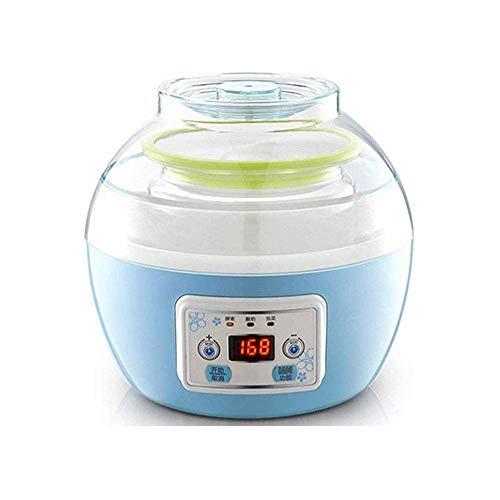 1yess Glasfutter Vollautomatische Joghurtmaschine Digitalanzeige hausgemachte Baby-Joghurt-Kinderjoghurt oder greifen Sie EIN Frühstück 8bayfa