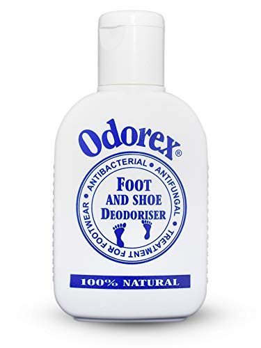 All Natural Deodorant Foot Odor Eliminator for Smelly & Stinky Feet – Fungus & Athletes Foot Prevention | Shoe Deodorizer and Antiperspirant – Odorex Natural - Antifungal, Kills Odor FAST