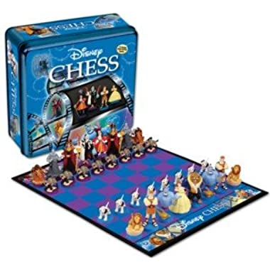Disney Collector's Tin Edition Chess Set