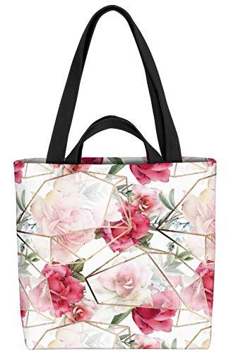 VOID Rosen Gewächshaus Design Tasche 33x33x14cm,15l Einkaufs-Beutel Shopper Einkaufs-Tasche Bag