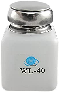 DealMux白100ML容量逆流防止アルコールボトル容器