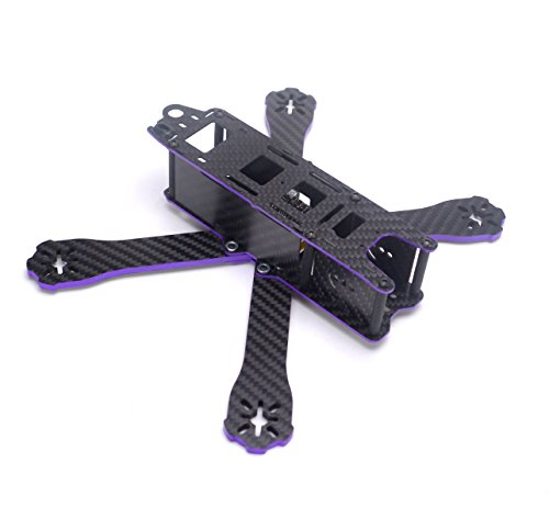 YoungRC 220mm FPV Racing Drone Frame Carbon Fiber 5 inch Quadcopter Frame with 4mm Arms