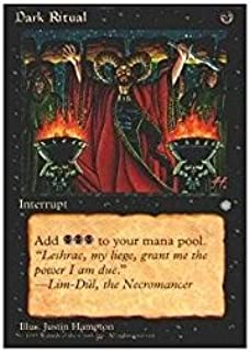 Magic: the Gathering - Dark Ritual - Ice Age
