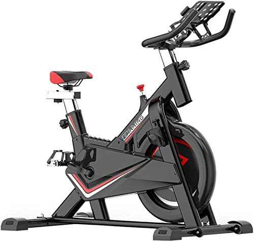 YLJYJ Upright Exercise Bikes Indoor Cycling Bike Spinning Bicycle Home Exercise Bike Indoor Sports Bike Fitness Bike Home m Spin bikection Home Spinning bikebic (Color : Black, Size : 102x52.5x116cm)