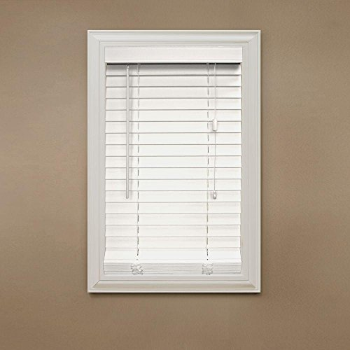 Home Decorators Collection White 2 in. Faux Wood Blind - 52 in....