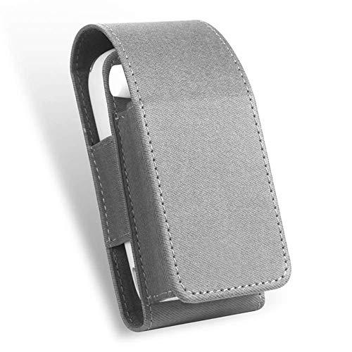 E Sigaret Case, NBWS Anti-Shock Lederen Hoesje Cover voor iQOS 3.0 (Geen Apparaat)