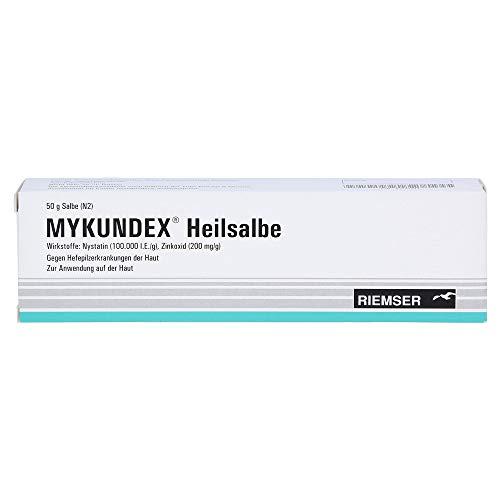 MYKUNDEX Heilsalbe gegen Hefepilzerkrankungen der Haut, 50 g Salbe
