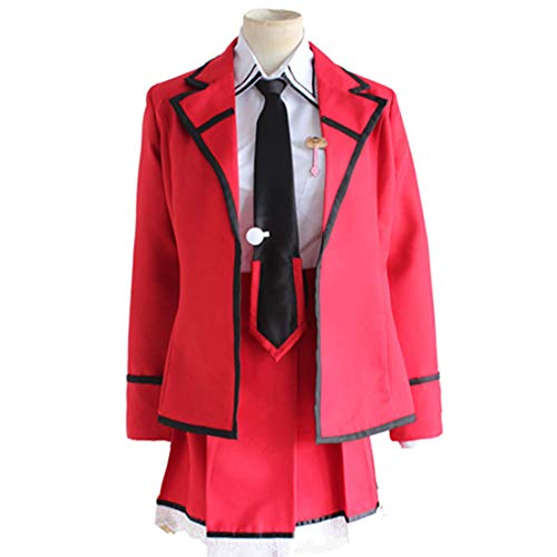 Y & Z Anime Kostuums Japanse Kleding Rode School Uniform Tops Rode Rokken Halloween Kostuum Carnaval Kostuums Anime Complete Set