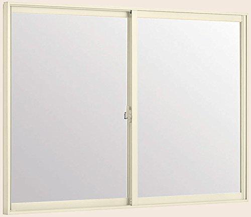 トステム インプラス 引き違窓 2枚建 単板ガラス 幅1501~2000mm×高601~1000mm 4mm不透明ガラス 枠色:ホワイト オーダー商品