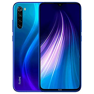 "Xiaomi Redmi Note 8 64GB + 4GB RAM, 6.3"" LTE 48MP Factory Unlocked GSM Smartphone - International Version"