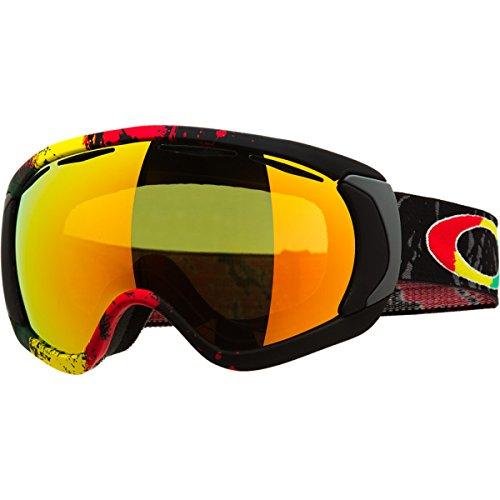 Oakley Tanner Hall Signature Canopy Goggle Rasta Mane/Fire, One Size