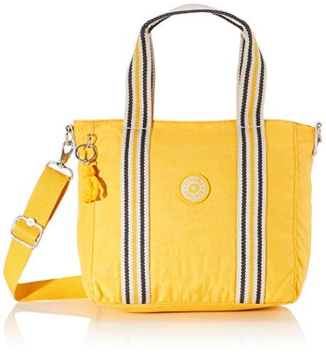 Kipling Damen Asseni Mini Tote Gelb (Vivid Yellow)