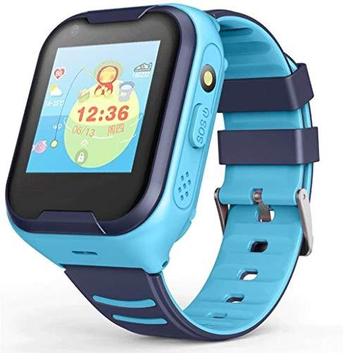Watch Fitness Tracker, Smart Phone 4G Full Netcom AI Voice Wasserdicht GPS Positionierung Video Call Q50 Blau Europäische