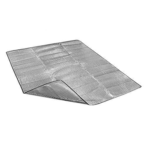 MMRM Papier d'Aluminium Mousse Pique-nique en Plein Air Hydrofuge Barbecue Tapis Coussin