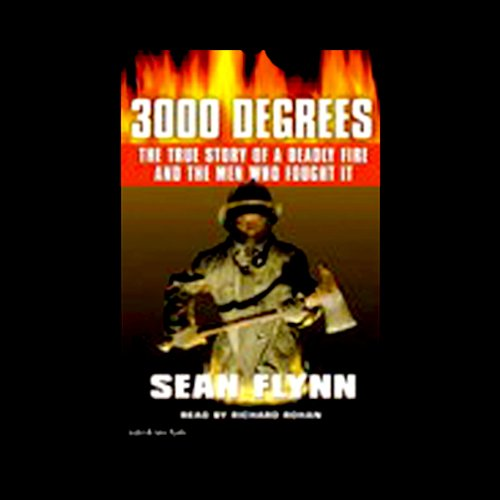 3000 Degrees audiobook cover art