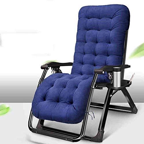 DAGCOT Liggende Outdoor klapstoelen Zonnestoel Tuinstoelen Patio ligstoelen Zero Gravity stoel, het vouwen Lounge Chair Garden Lunchpauze Stoel Lazy Chair Verstelbare Sun Lounge Chair ligstoel stoel