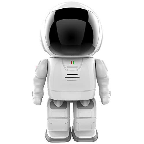 ZJ Cámara De Robot Inteligente De Seguridad para El Hogar Monitor De Bebé Cámara De Vigilancia CCTV Cámara IP 1080P HD Cámara WiFi Inalámbrica Visión Nocturna