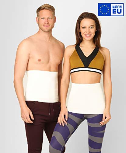 ®BeFit24 Nierenwärmer Medizinische Qualität aus Angora & Merino Wolle für Damen und Herren - Rückenwärmer - Wärmegürtel Rücken - Nierengurt - Nierenschutz [ Size 3 ]