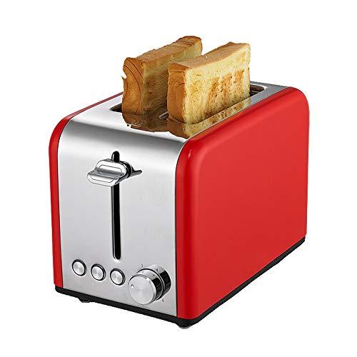 SMEJS Máquina para Hornear Pan, tostadora eléctrica, para el hogar, Desayuno automático, Tostada, máquina de Arena, recalentar la Cocina