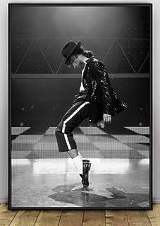 ysldtty Canvas Painting Poster Michael Jackson Carteles E Impresiones Imagen De Arte De Pared para Sala De Estar Decoración para El Hogar C247 Sin Marco 40cmx60cm