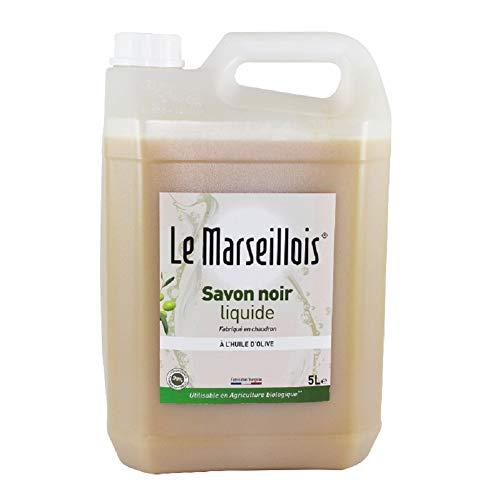 SAVON NOIR A L HUILE D'OLIVE - LE MARSEILLOIS (5L)