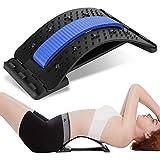 Rückenstrecker Rückendehner Back Stretcher, Kastiny Rückenmassagegerät Rückentrainer, Rückenmassage mit 3 Stufen Einstellbar, Schmerzlinderung Unterstützung Geeignet für Bandscheibenvorfall Damen
