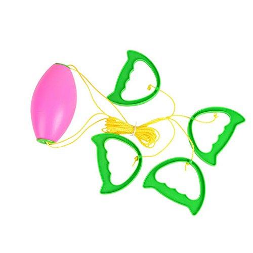 ROSENICE Boing Ball Spiel Kugelspiel Kinder Sport Spielzeug Set (Zufällige Farbe)