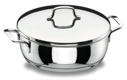 Lacor - 90622 - Tartera con Tapa Gourmet 22cm Inox