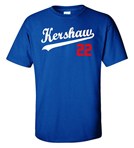 The Silo Blue Los Angeles Kershaw 22' T-Shirt Toddler 3T