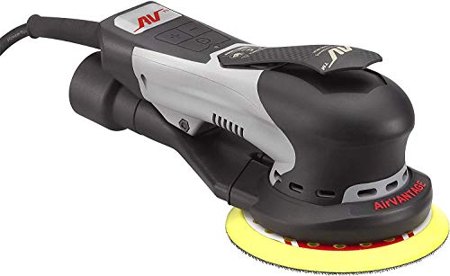 """AirVANTAGE 6"""" Palm-Style, 2nd Generation Industrial Advanced Electric Sander Central-Vacuum with Low-Profile Pad (3/32- PSA Vinyl)"""
