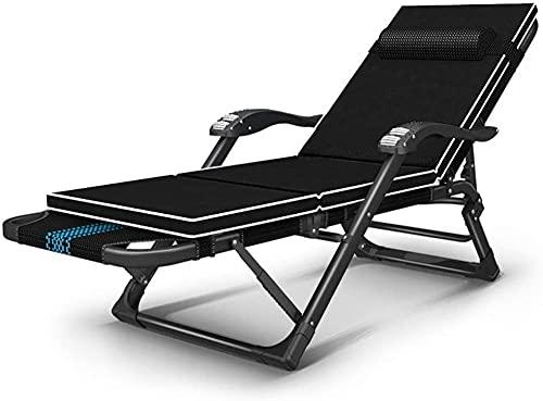 - Sillón reclinable para camping, cama de repuesto, plegable, para pesca, camping, viajes, senderismo, caza, silla (color : silla+cojín)