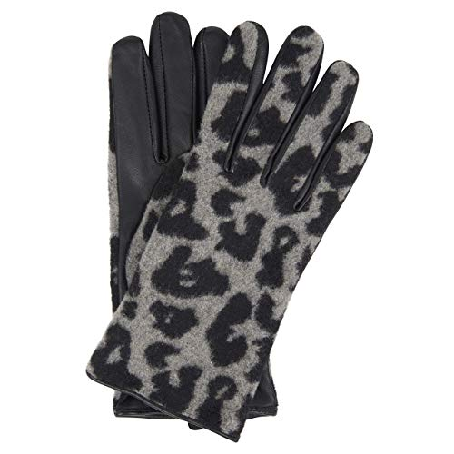 Opus Handschuhe 'Akitty gloves' mit Musterung schwarz (900 black) S
