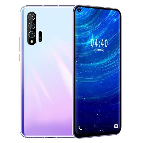Smartphone, MIQOO Nowo6pro 6.7inch 6 + 64G Teléfono móvil Tarjeta Dual Doble Modo de Espera Quad Core Desbloqueo Facial del teléfono Inteligente para Android, teléfono móvil(Enchufe de la UE)