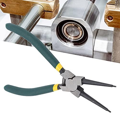 Alicates de anillo a presión, alicates de anillo a presión de mandíbula recta Alicates de suministros industriales para retener el removedor