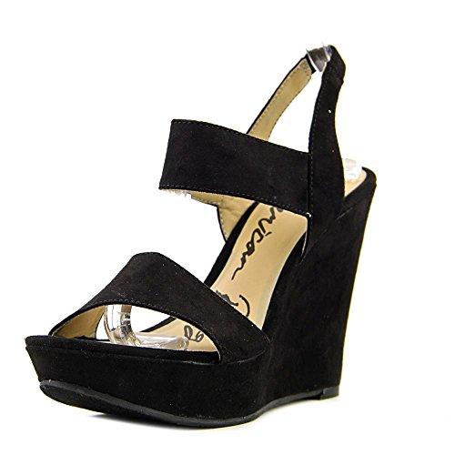 Price comparison product image American Rag Womens Audria Open Toe Casual Platform Sandals,  Black,  Size 9.5