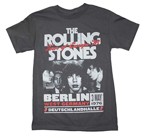 Rolling Stones Europe 76 Tour T-Shirt X-Large Gray