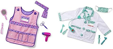 Melissa Doug Hair Stylist Role Play Costume Set Doctor Role Play Costume Set product image