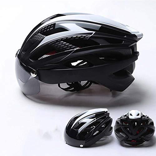 LIYAN fiets helm met afneembare magnetische bril vizier Shield fietsen berg & road fiets helmen magnetische helm