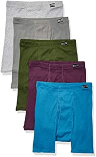 Hanes Men's 5-Pack Comfort Soft Boxer Briefs