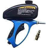 Boloniprod Power Sand Blaster Sand Blaster Gun Kit Handheld Pneumatic Gravity Feed Portable Sandblasting Gun...