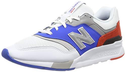 New Balance Cm997hv1, Zapatillas para Hombre, Blanco (White/Blue White/Blue), 44 EU