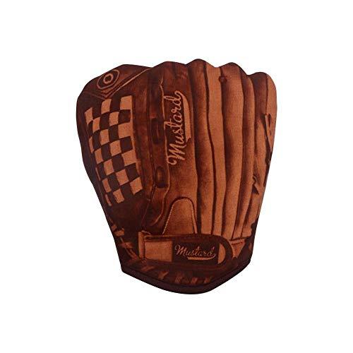 whbage BBQ Ofenhandschuhe 1 Stück rutschfeste Baumwolle Ofenhandschuh Banane Baseball Handschuh Mikrowelle Hitzebeständig Backen Anti-Verbrühungshandschuhe BBQ Handschuhe